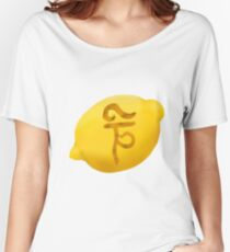Ceramic Lemon Tulpa Women's Relaxed Fit T-Shirt