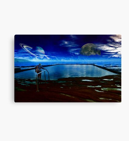 Dawn at the Pool of Regeneration  Canvas Print