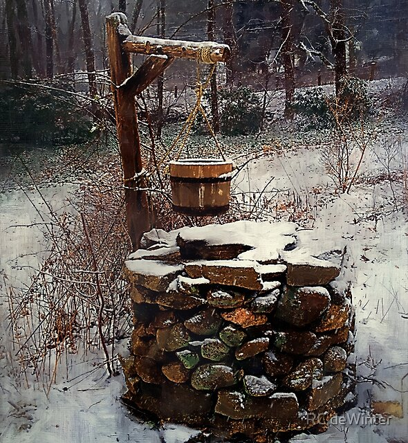 Snow at Twilight by RC deWinter