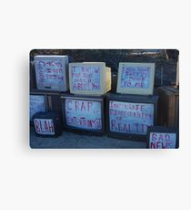 real reality tv Canvas Print