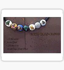 Camp Half-blood Quote - Percy Jackson.  Sticker