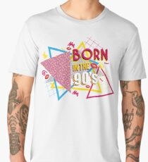 Born in the 90's Men's Premium T-Shirt