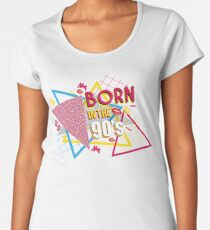 Born in the 90's Women's Premium T-Shirt