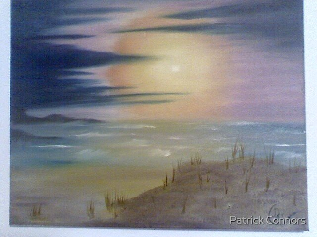 Sea At Sunset by Patrick Connors