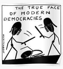 true_face_of_democracy Poster