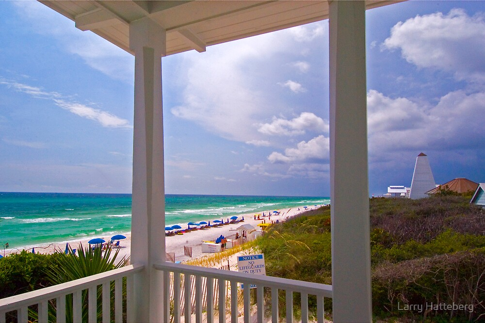 Beach View by Larry Hatteberg
