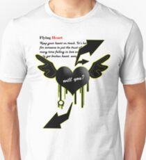 Flying Heart Unisex T-Shirt