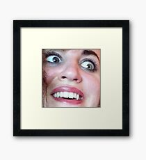 A Face Framed Print