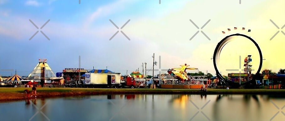 Fairscape at Sunset by Lisa Putman