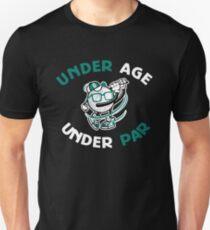 Under Age Under Par Funny Kids Golf Shirt T-Shirt