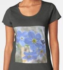 Forget Me Not Women's Premium T-Shirt