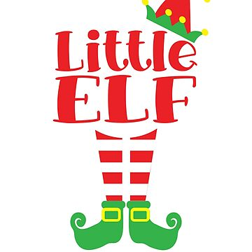Little Elf Christmas Kids Costume Shirt by Dan66