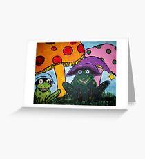 Froggie Friends Greeting Card
