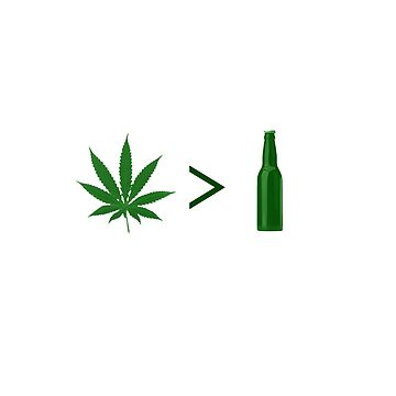Weed is Greater Than Alcohol by jdcreative