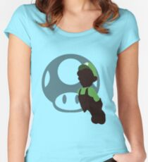 Luigi (Mario) - Sunset Shores Women's Fitted Scoop T-Shirt
