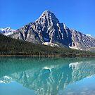 Waterfowl Lake by Natalie Broome