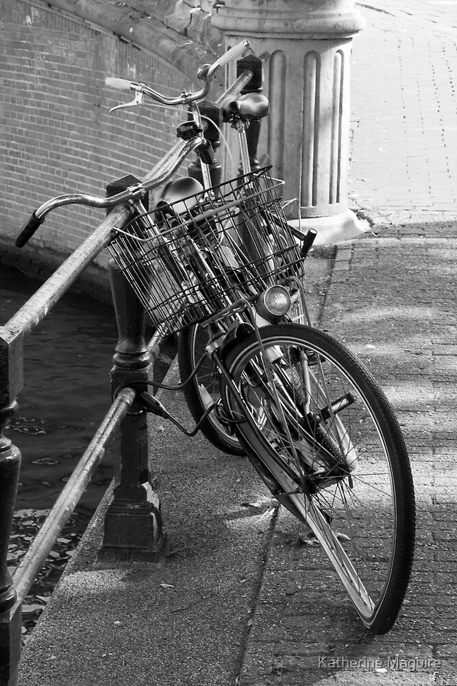Broken bike by Katherine Maguire