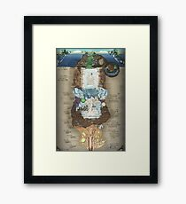 Made In Abyss - Abyss Chart Framed Print