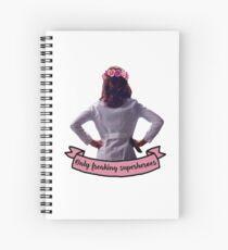 Amelia Shepherd - Only Freaking Superheroes Spiral Notebook