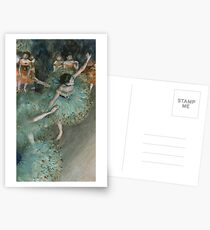 Swaying Dancer (Dancer in Green) by Edgar Degas Postcards