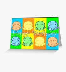 Happy Birthday: Happy Tako Card Greeting Card