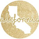 Golden Sparkle California by Lizzie Bromley