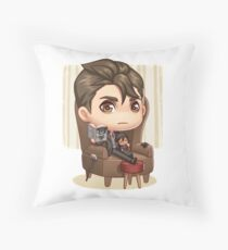 Kaz Brekker Throw Pillow