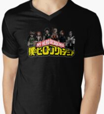My Hero Academia Men's V-Neck T-Shirt