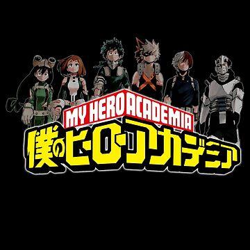 My Hero Academia by Kitsuneace