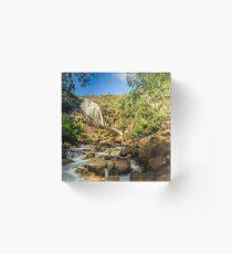 Lesmurdie Falls, Perth, Western Australia Acrylic Block