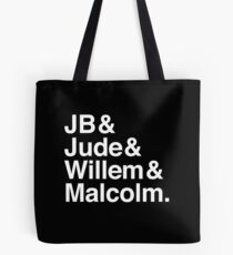 A LITTLE LIFE book JB & Jude & Willem & Malcolm (in white) Tote Bag