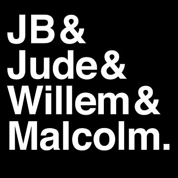 A LITTLE LIFE book JB & Jude & Willem & Malcolm (in white) by jazzydevil