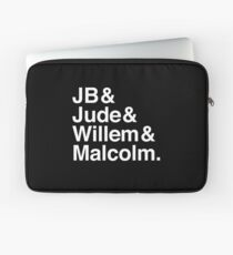 A LITTLE LIFE book JB & Jude & Willem & Malcolm (in white) Laptop Sleeve