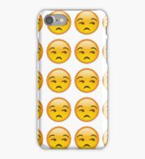 annoyed emoji iPhone Case/Skin