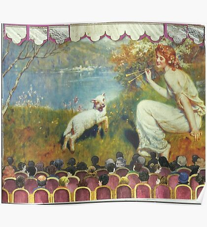 """""""Spring Song"""" Tableaux Poster"""