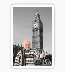 Hide Your Pain Harold In London Sticker