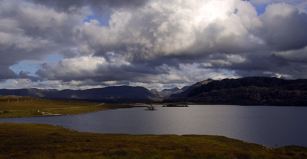 Across Loch Tollaidh to Mountains of Letterewe by photobymdavey