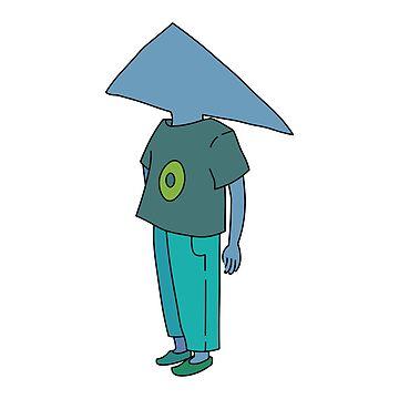 triangle man by EmilyGoto
