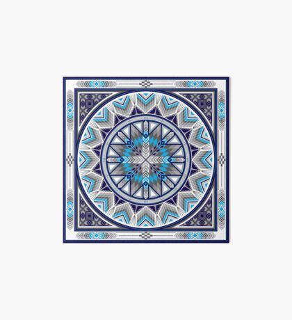 Sacred Places Blue  Art Board