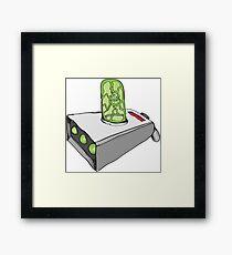 Rick and Morty Portal Gun Framed Print