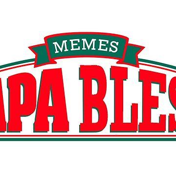 Papa Bless h3h3  by melowyelowlemon