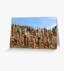 Giant Cacti, Isla los Pescados. Greeting Card