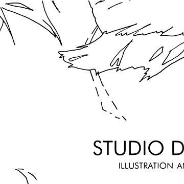 Studio Dyceus Black Logo by Dyceus
