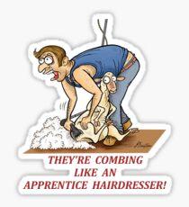 Shearer 1 Sticker