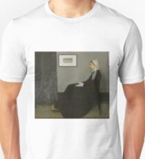 Whistler's Mother, a portrait of Anna James McNeill Whistler  T-Shirt