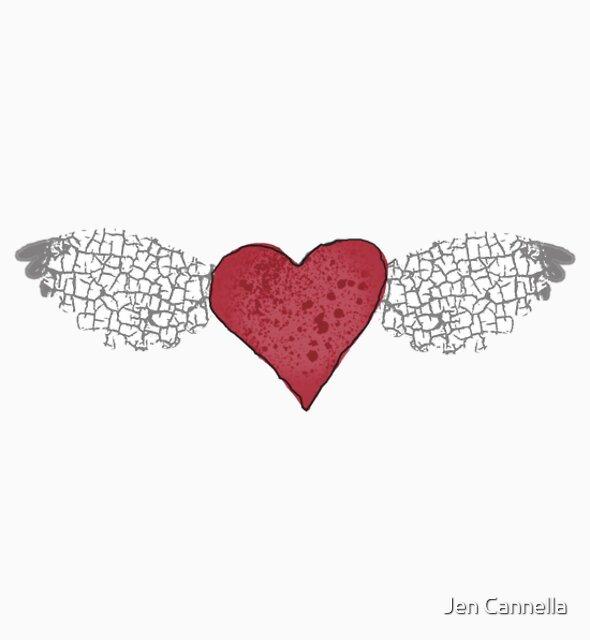 T a t t e r e d W i n g s  by Jen Cannella