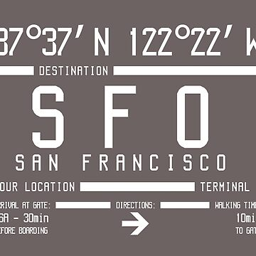 San Francisco International Airport SFO by ernstc