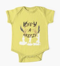 Life's A Breeze For Kitesurfers Kids Clothes