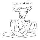 Nano goat by Matt Mawson