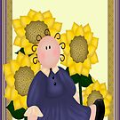 Sally Sunflower by Catherine Crimmins